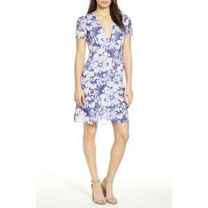 Michael Kor lavender floral dress